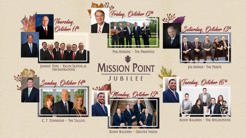 Mission Point Jubilee 2018